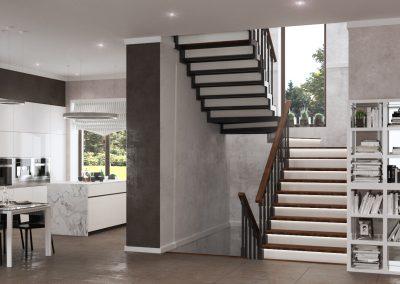Дизайн гостиной в доме Приуралье