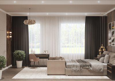 Проект спальни от дизайнера