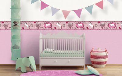 Новое поступление! Яркие и необычные обои для детской комнаты