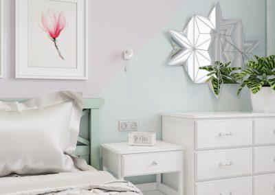 Комната для девочки дизайн от ДомОрен